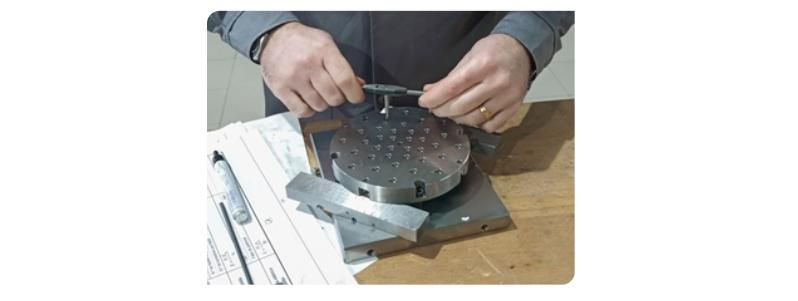 Preparation of the construction wafer